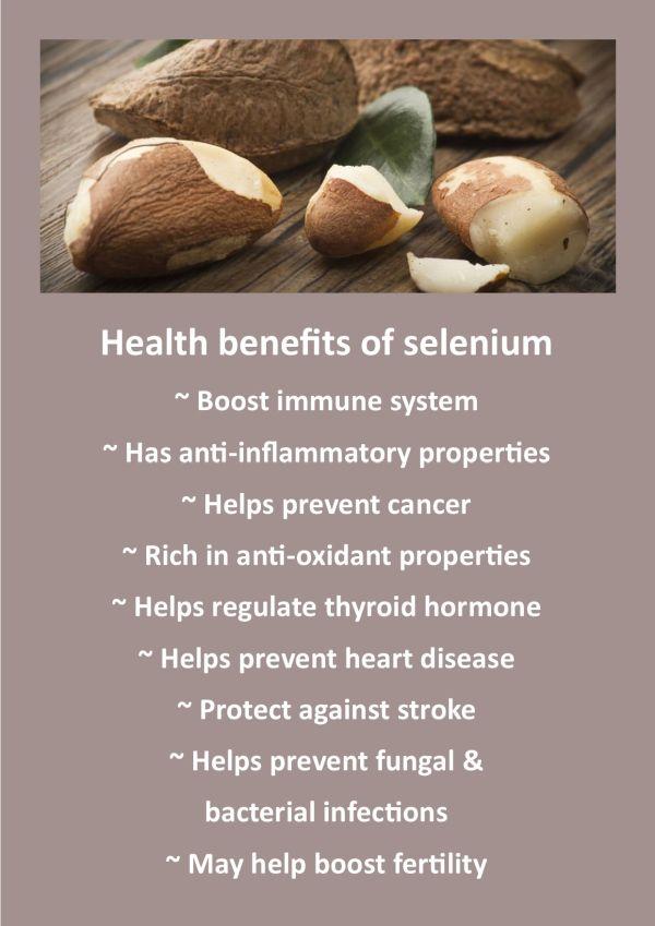 Benefits of selenium for endometriosis