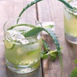 Aloe vera juice can help with endo