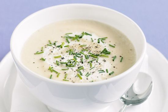 Endo friendly cream of cauliflower soup