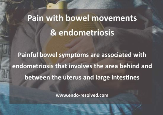 Endometriosis bowel symptoms