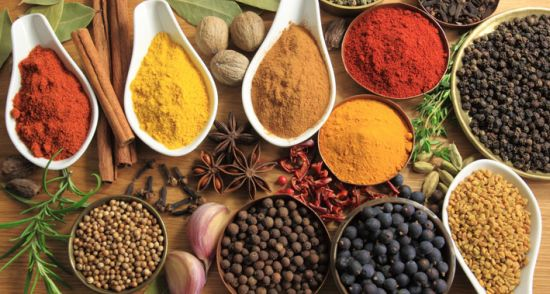 Healing spices for health that can help symptoms of endometriosis