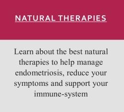 Natural therapies for endometriosis
