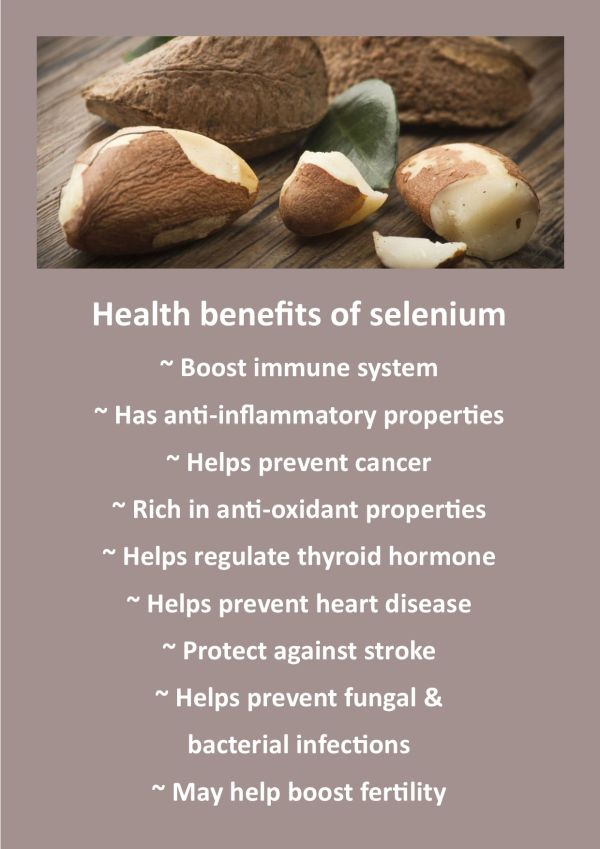 Benefits of selenium for endometriosis