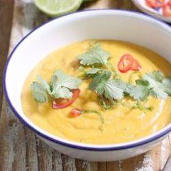 Sweet potato chilli & coconut soup - endometriosis diet