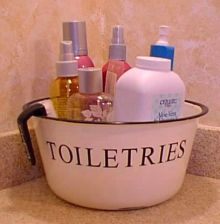 safe toiletries