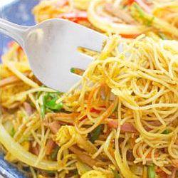 Noodles with Vietnam sauce - endometriosis diet