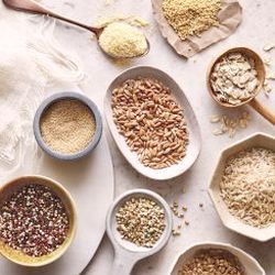 Alternatives to wheat in the diet for endo