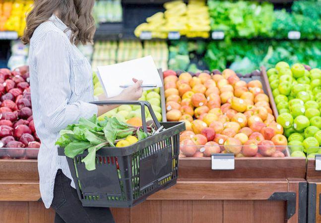 Shopping list for the endometriosis diet