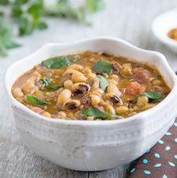Indian bean soup - endometriosis diet