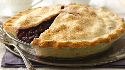 Buckwheat berry pie - gluten free and sugar free