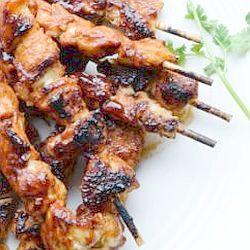 Spicy chicken kebabs - endometriosis diet friendly