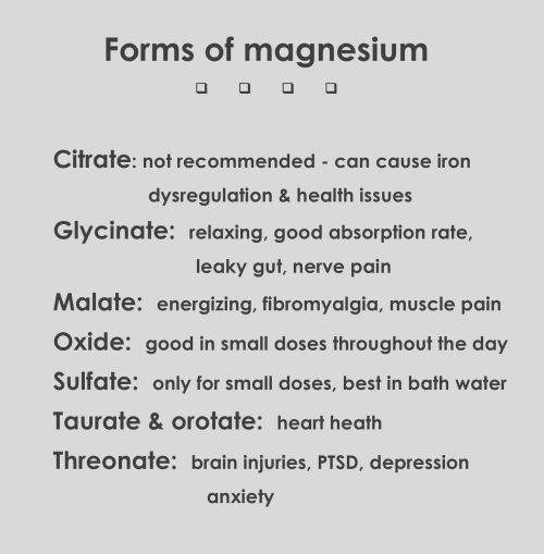 Magnesium benefits for endometriosis
