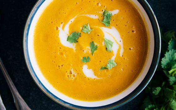 Endo friendly spicy lentil soup